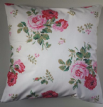 "Shabby Chic Cushion Cover in Cath Kidston Antique Rose White 14"" 16"" 18"" 20"""